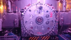 De synchrocyclotron.